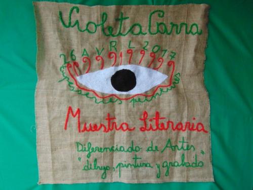 MUESTRA LITERARIA 2017 - VIOLETA PARRA