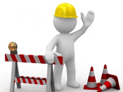 ATENCIÓN: Trabajos del MOP en  las vías de acceso al colegio.