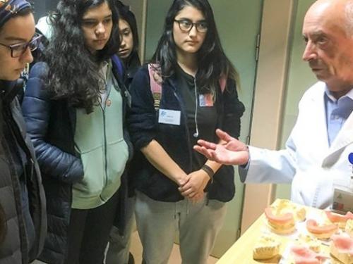 Coyhaique: Hospital Regional Coyhaique realizó primer ciclo de visitas guidas para 25 estudiantes