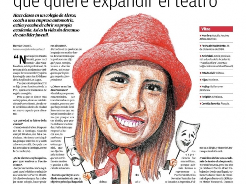 Entrevista a una exalumna destacada: Natalia Alfaro Haefner.