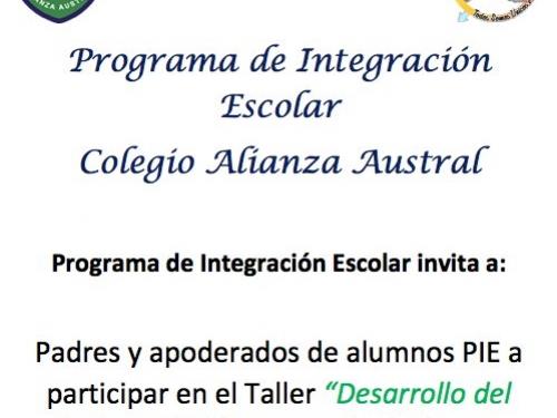 Programa PIE invita