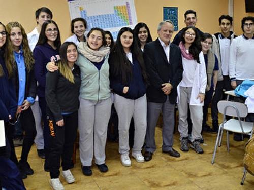 Capacitación y Plan de orientación Vocacional, dirigido a estudiantes de 4° Medio Plan Diferenciado de Biología y Plan Común